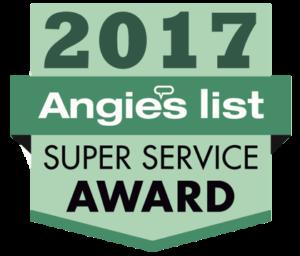 angieslist super service award 2017