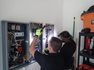 electrical panel inspection by home key inspections