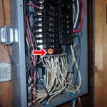 home inspection fairfax virginia - unsafe electric panel