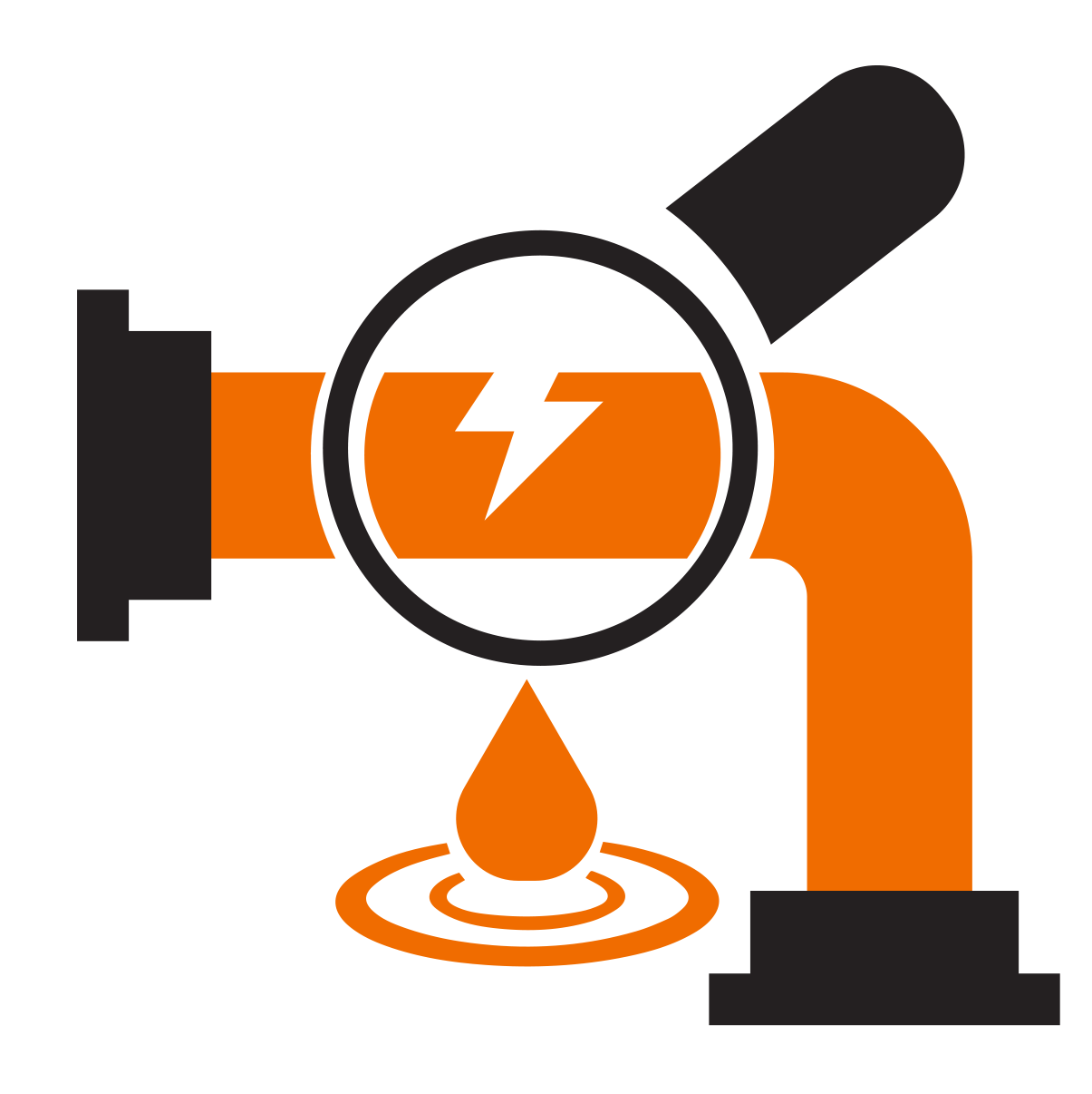 leak detection icon