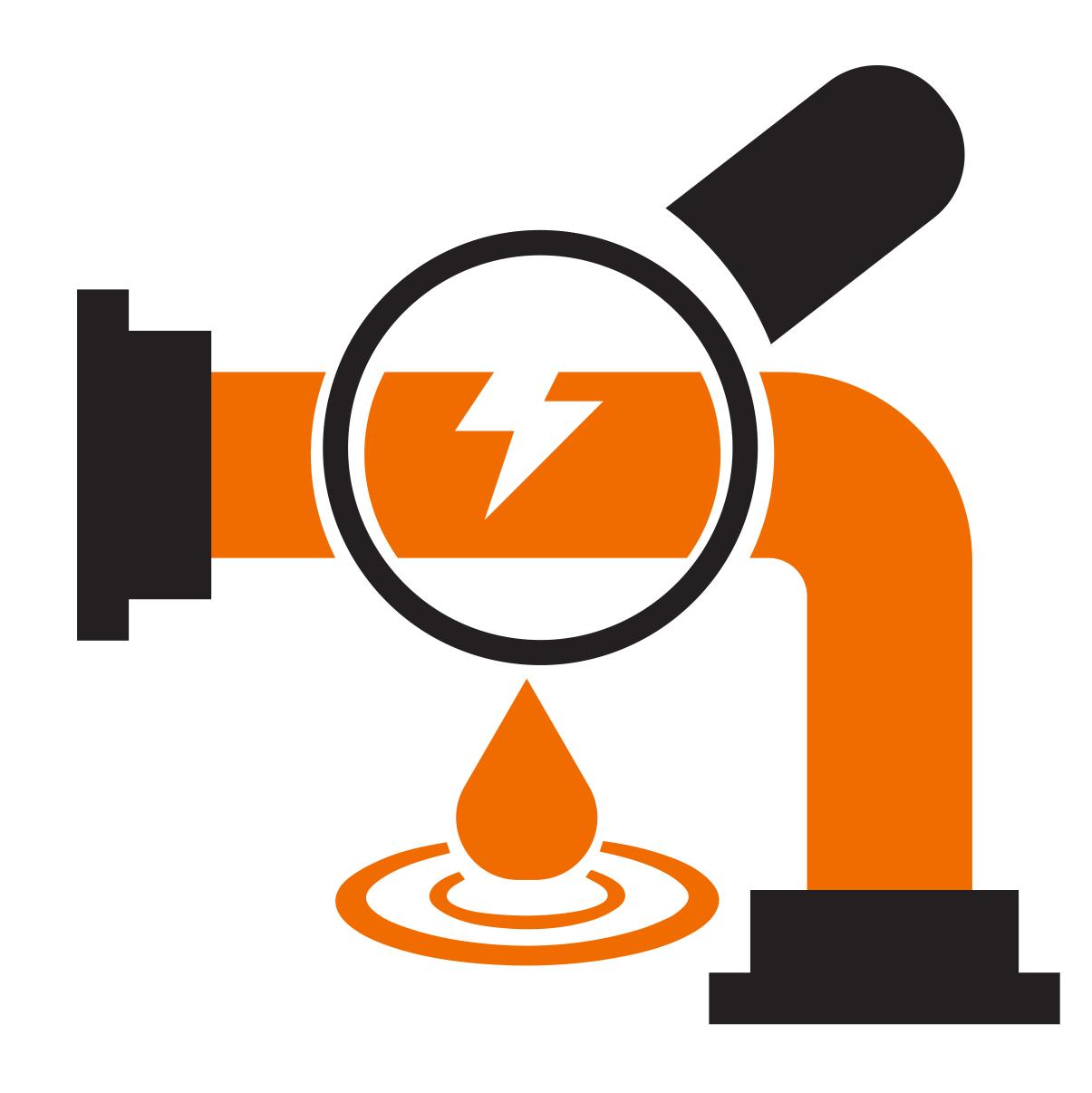 leak detection icon